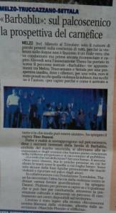 barbaBLU su La Gazzetta della Martesana